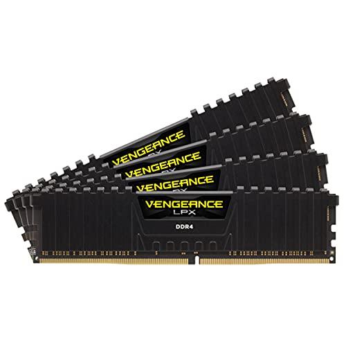 Corsair Vengeance LPX 128 GB (4 x 32GB) DDR4 3600MHz C16 Memoria de Sobremesa, Negro