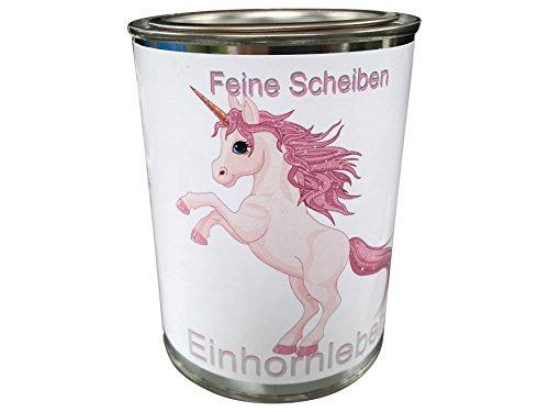 eXODA Artículo de Broma sobre el Unicornio, hígado de Unicornio, Carne enlatada en rodajas Finas, Lata de