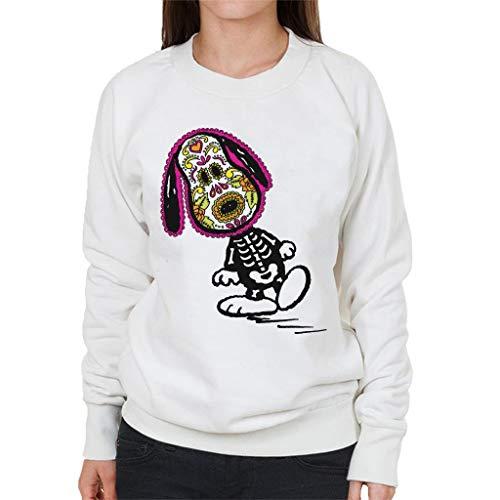 Peanuts Cinco De Mayo Skeleton Snoopy Women's Sweatshirt