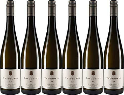 Theodorus Wein- und Sektgut Riesling vom Muschelkalk*** Lagenwein Siebeldinger Im Sonnenschein 2016 Trocken Bio (6 x 0.75 l)
