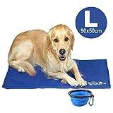 Sunshine Dreams Luxury Large Dog Cooling Mat Scratchproof Bite Resistant Cooling mat for dogs summer