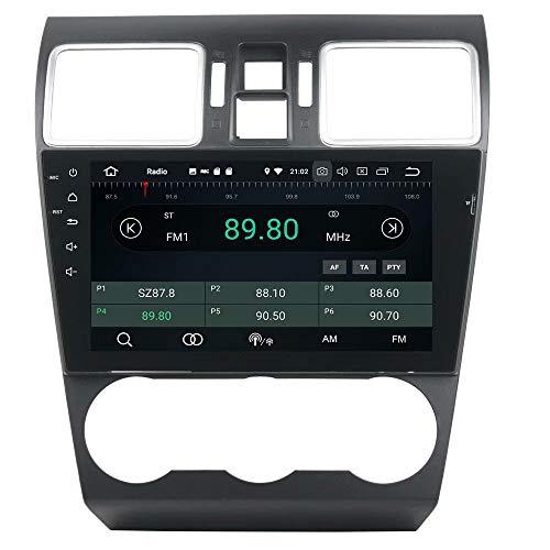 ROADYAKO Radio Double Autoradio Stéréo pour Subaru WRX 2015 2016 2017Android 8.1 avec Navigation GPS 3G Lien Miroir RDS FM AM Bluetooth
