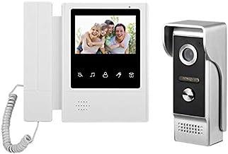 Camera Nest Doorbell Video Doorbell Doorbell Camera Nest 4.3 Inch Wired Video Door Phone System Visual Intercom Doorbell w...