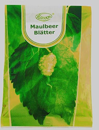 Maulbeerblätter Tee, geschnitten 250g, bremst Zucker und Kohlenhydratenaufnahme, für niedrigen Blutzucker, reduziert Heißhunger, zum Abnehmen, senkt Cholesterin, maulbeertee