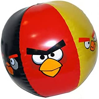"Amazon.com: Angry Birds pelota hinchable de 16"" playa ..."