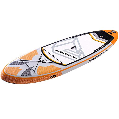 SMEI 330 * 81 * 15cm Aufblasbare Surf Board Stand Up Paddle Board Pedal Control Sup Board Tasche Leine Paddel Set B