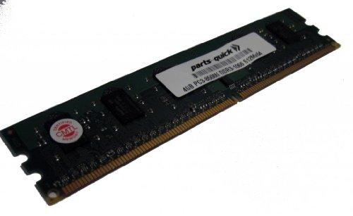 4GB Memory for ASUS P7 Motherboard P7P55D-E LX DDR3-8500 NON ECC DIMM RAM (PARTS-QUICK BRAND)