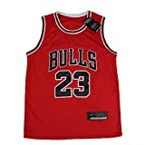 ☛ Si eres un fiel fanático de los Chicago Bulls y del 23er Michael Jordan, esta camiseta no se debe perder.