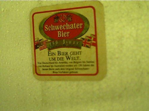 Bierdeckel: Schwechater Bier,