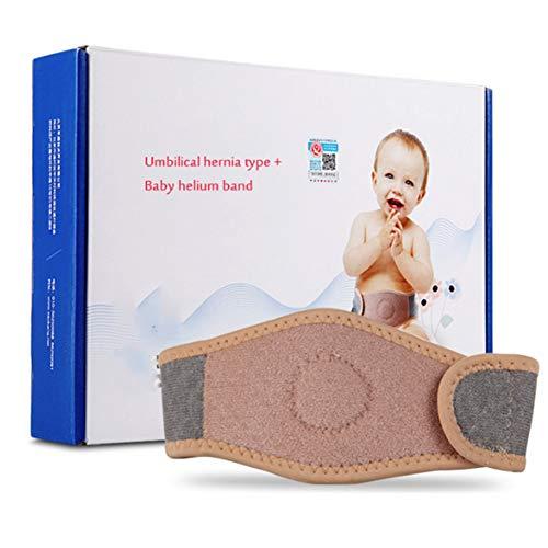 XIONGG Nabelbruchgürtel, Baby-Bauchnabelband, Baby-Bauchwickel, Bauchbindemittel, Hernienbinder, Einstellbare Unterstützung
