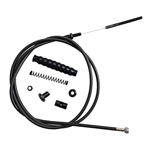 CAIFEIYU Nueva línea de Cable de Freno Ajuste para Ninebot MAX G30 KickSooter G30D Scooter eléctrico de la Rueda Delantera Accesorios de Montaje (Color : Black)