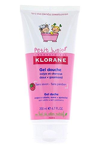 Klorane Duschgel Körper und Haar Himbeere Petit Junior Klorane 200 ml 36m+