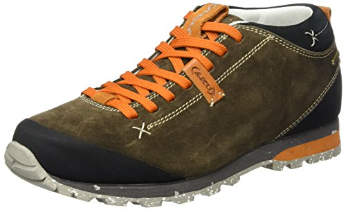 AKU Unisex-Erwachsene Bellamont Suede GTX Trekking- & Wanderschuhe, Beige (Beige/Orange), 39 EU