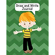 Draw and Write Journal: Composition NoteBook for Kids - Paper With Primary Lines and Half Blank Space for Drawing Pictures - 140 Pages - Boy Design #5