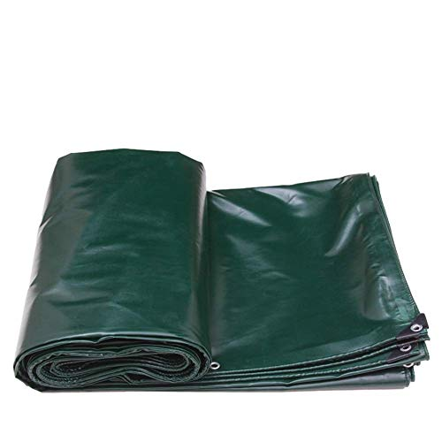 WZHTARPAULIN groot dekzeil zwaar waterdicht dekzeil dubbelzijdig vloerkleed verdikking condoom regen 520G / M2 multi-size optioneel