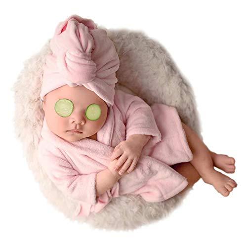Pasgeboren Baby Photo Props Gehaakte Leeuw Kostuum Sets voor Jongens Meisjes Baby Fotografie Props roze