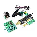 nbvmngjhjlkjlUK Programador Soic8 Sop8 Eeprom 93Cxx / 25Cxx / 24Cxx Clip de Prueba Wch341A Eeprom Flash Bios USB 1,8 V Clip de Prueba