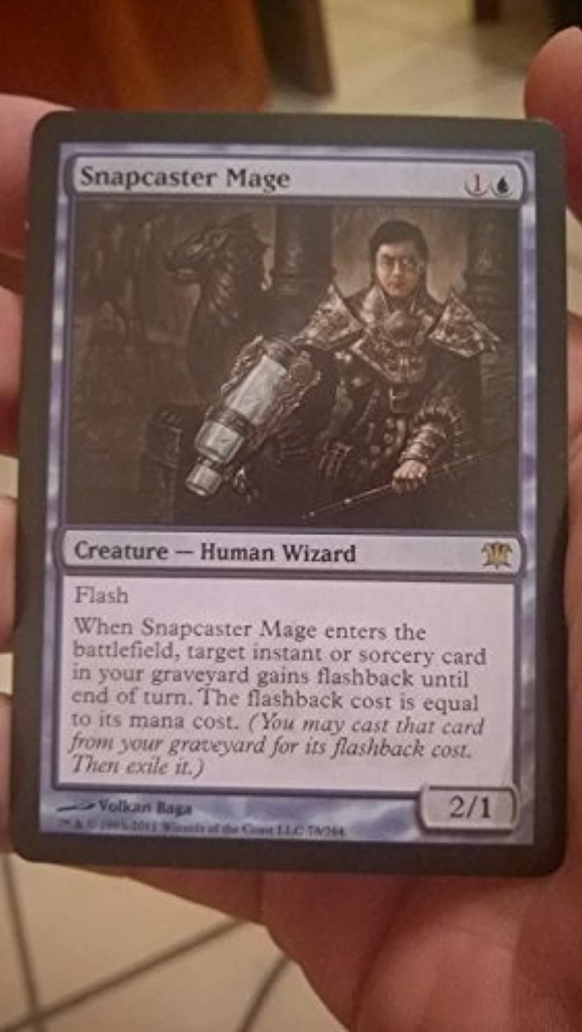 Magic  the Gathering - Snapcaster Mage - Innistrad by Wizards of the Coast