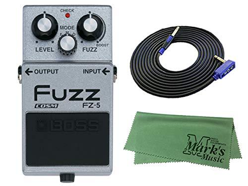 BOSS Fuzz FZ-5 + 3m ギターケーブル VOX VGS-30+クロス セット