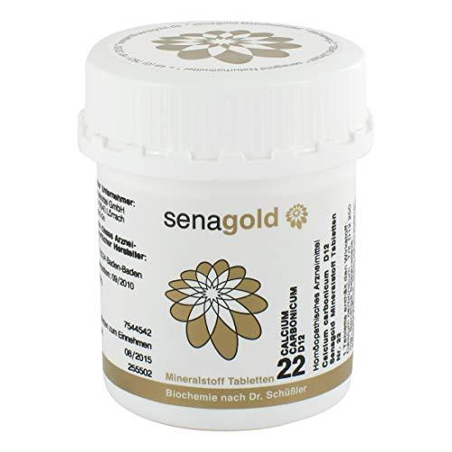 Schüßler Salz Nr.22 - Calcium carbon. D12-400 Tabletten, glutenfrei