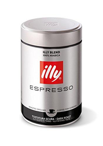 illy Espresso gemahlen, intenso, vollmundig- aromatisch 250g