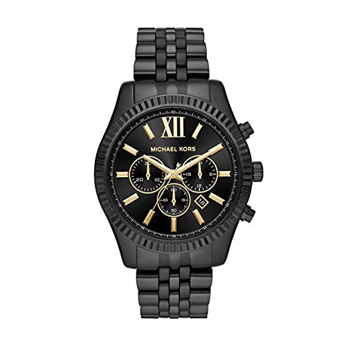 Reloj MKSWC Lexington para Hombres 44mm, pulsera de Acero Inoxidable
