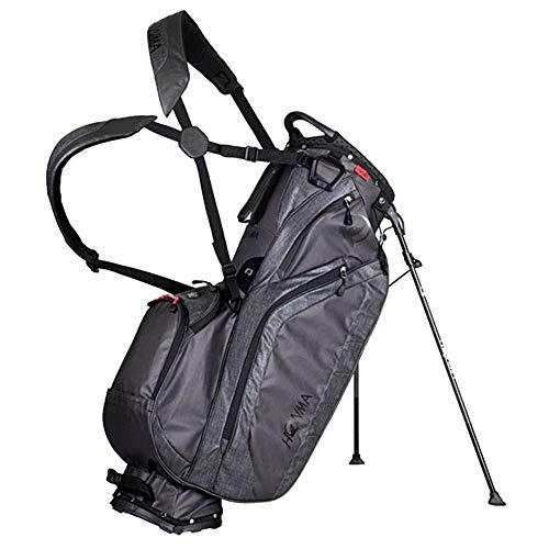 Learn More About Honma 2020 Stand Bag Black/Gray