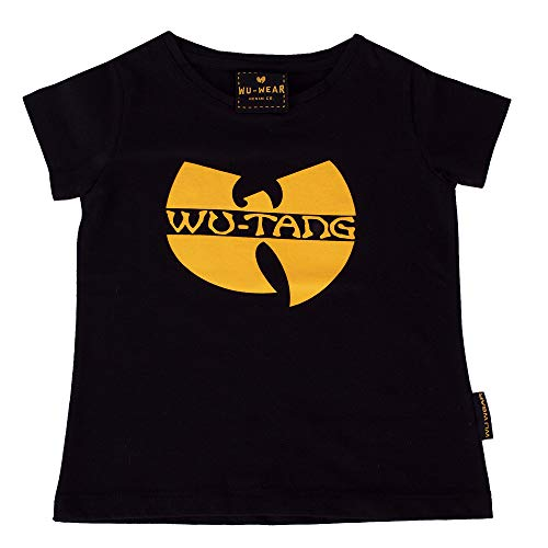 Wu Wear - Wu Tang Clan - Kinder Wu Classic T-Shirt - Wu-Tang Clan Größe 110/116, Farbe Black