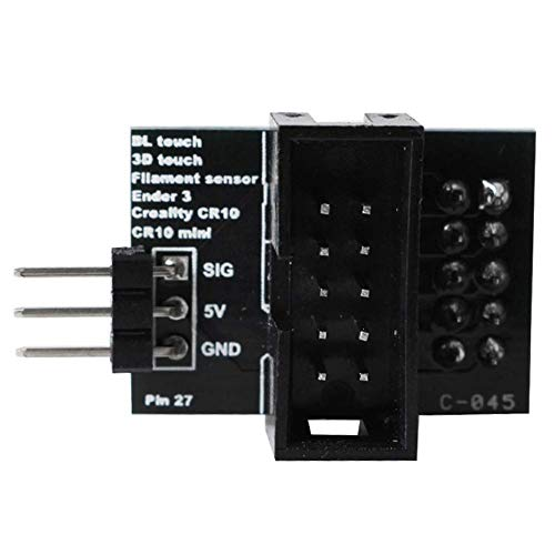 Matedepreso Adapter Board Hulp snijden Filament Accessoires Gereedschap Pin 27 3D Printer Upgrade Touch Breakout Onderdelen Sensor Office Mini Voor Ender 3 CR10