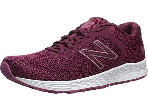 New Balance Women's Arishi V2 Fresh Foam Running Shoe, Dragonfruit/Black, 10 B US