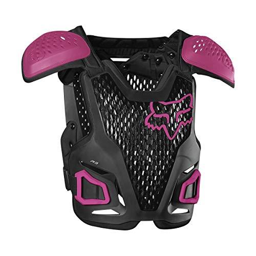 Fox Racing 2020 Girl's R3 Roost Deflector (Black/Pink)