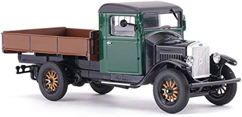 Lszdp-store Collezione modellolo Advanced costruzione Original Scala 1 43 modellolo Da Corsa In Lega, Alta Simulazione Pickup Truck LV40 Auto classeica, Confezione Regalo Confezione modellolo Di Auto Giocattolo