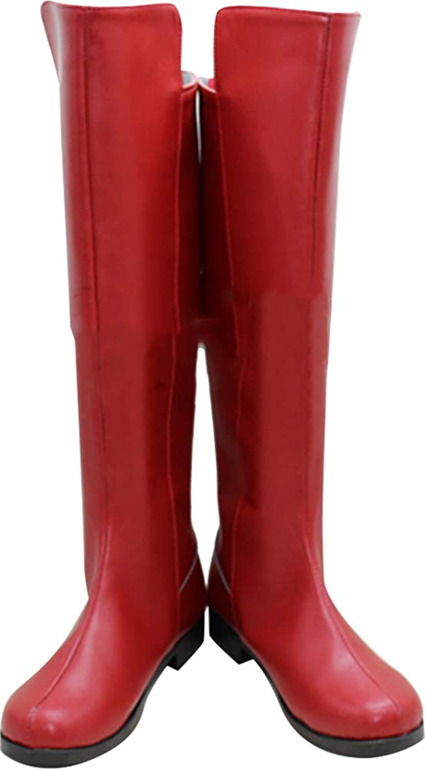 Whirl Cosplay Boots shoes for Vocaloid Meiko