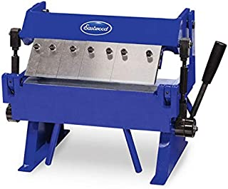 Eastwood 12 in. Box And Pan Sheet Metal Brake Easy Adjustment Box With 5 Adjustable Fingers