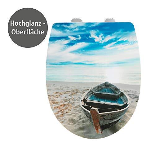 WENKO Premium WC-Sitz Boat High Gloss