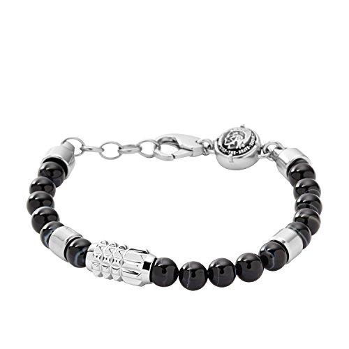 Diesel Herren-Armband Edelstahl Kunststoff 21.5 cm - DX0847040