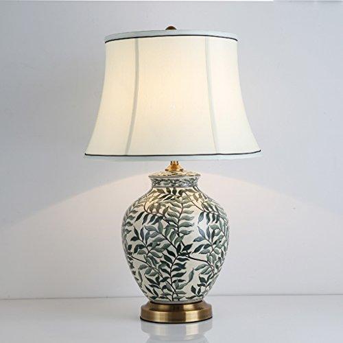 Bonne chose lampe de table Salon de cuisine en céramique peint à la main de style américain Salon de cuisine nordique Minimaliste Lampe de chevet moderne