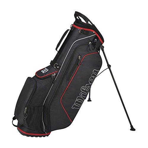 Wilson Prostaff HDX - Set completo da golf, bastoni con canna in grafite e borsa con supporto, da uomo, mano destra