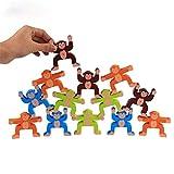 MxZas Bloques de construcción Niños de 3-12 años Bloques de construcción de Mono Equilibrio Bloques de construcción Juguetes for niños Puzzle favores de Partido Suministros para los niñ