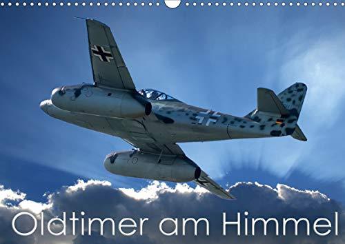 Oldtimer am Himmel (Wandkalender 2021 DIN A3 quer)