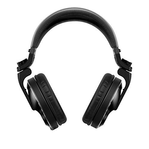 PIONEER HDJ-X10-K Professional DJ Headphone, Black, Standard (HDJX10K)