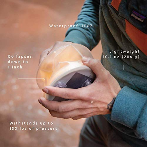 MPOWERD Luci Base: All-in-One Solar Inflatable Light + Phone Charger