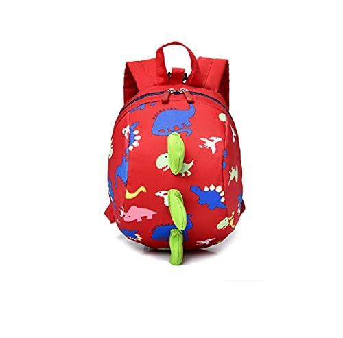 Mochila de dinosaurios para niños, mochila antipérdida, mochila universal para niños y niñas