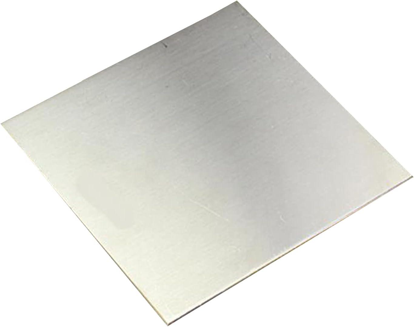 SHHMA Chapa De Acero Inoxidable Lámina De Acero Inoxidable Adecuado para El Procesamiento De Piezas Industriales,180mm x 180mm x 5mm