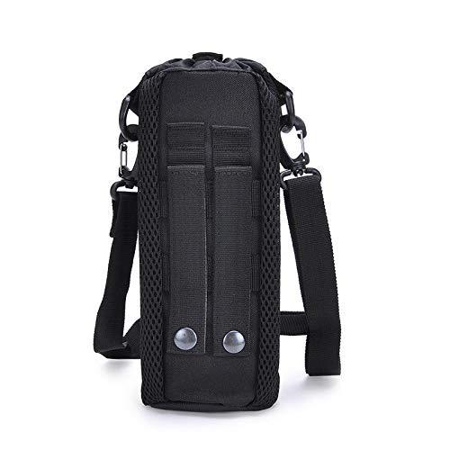 Select Zone, borsa tattica per bottiglia d'acqua, 17 x 8 cm, borsa a tracolla (colore: nero)