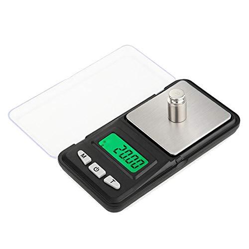 Mini Pocket Schmuck Waage 500/300 / 200g 0,01g / 0,1g Gramm digitale Gewichtswaage Elektronische Waage Für Sterling LCD-Display 0,01gx 200g