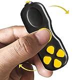 Lucha Sensory Fidget Toys Set para ansiedad, Hand Fidget Toys, Fidget Pad Reductor de estrés con la yema del Dedo Juguete en Espiral Firm Relieve Anxiety Finger Top Toy para niños y Adultos