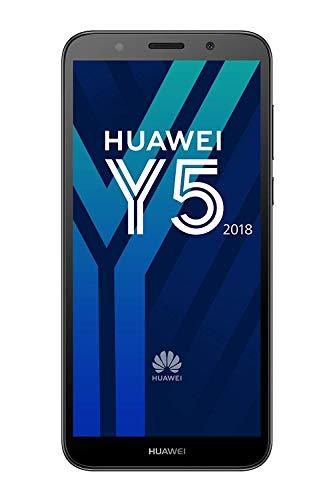 Huawei 774965 Y5 2018, Smartphone, 16 GB, Brand Tim Schwarz