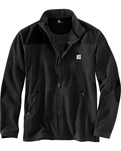 Carhartt Fallon Zip Sweatshirt Jacke - Fleecejacke, black 001, XL