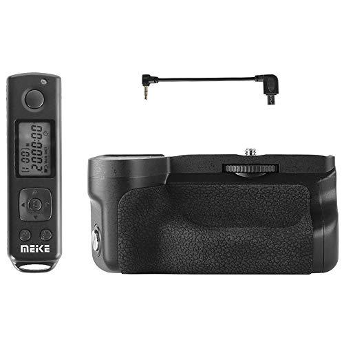 Meike - Empuñadura de batería compatible con Sony Alpha A6600, incluye disparador...
